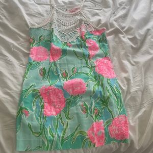 Lilly Pulitzer crochet floral dress
